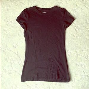 Black Mossimo Casual Short Sleeve Tee